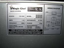 i have a small magic chef refrigerator that sat for some time graphic graphic graphic graphic
