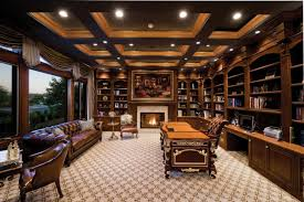 Image Home Library Designtrends 20 Library Home Office Designs Decorating Ideas Design