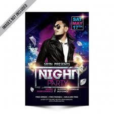 Free Flyer Party Poster Vectors Photos And Psd Files Free Download