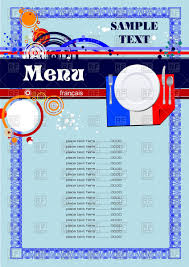 french menu template menu template for french restaurant or cafe royalty free vector clip