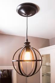 easy diy pendant light how to