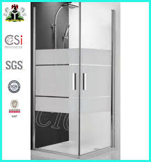 best curved glass shower door