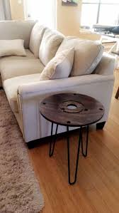 solid wood round modern rustic style coffee table for in austin tx offerup