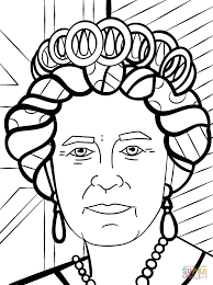 Queen Coloring Page Free Printable King And Queen Coloring Pages ...
