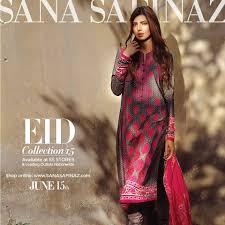 Sana Safinaz Stylish Lawn Eid Dresses Collection 2015-2016