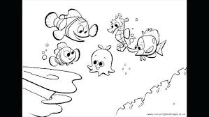 Finding Nemo Coloring Page Coloring Pages Finding Coloring Pages