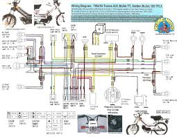 49cc scooter wiring diagram tomos wiring diagrams Ã' myrons mopeds tomos 1992 93