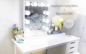 impressions vanity mirror ikea vanity table you rh you com ikea makeup table with mirror dressing
