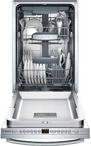 bosch 3 rack dishwasher. Bosch 800 Series Even At Slim 18 Inches Wide 10 Place Settings And Rack Dishwasher