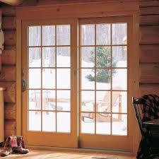 andersen tribeca 2 panel gliding patio door hardware set in stone 2565696 the home depotandersen tribeca