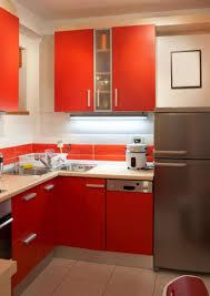 kitchen designs red kitchen furniture modern kitchen. Kitchen Room Bright Small With L Shape Red Modern Island Designs Furniture