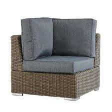 Gray Wicker Patio Furniture Patio Furniture Outdoors The