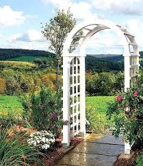 rose arch garden arbor steel decoration how to build a simple woodworking project rose arch garden