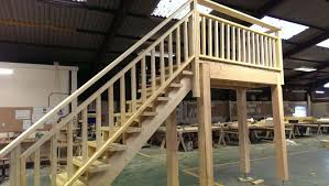 Exterior Wooden Stairs Uk