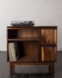 Walnut Record Player Stand price reduced by brianbolesfurniture
