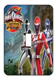 Charming Power Rangers Switch Light Cover
