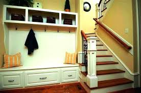 Metal Entryway Storage Bench With Coat Rack Amazing Swingeing Metal Entryway Storage Bench With Coat Rack Mudroom Bench
