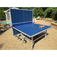 Extreme Ping Pong Contender Outdoor Ping Pong Table Tennis Set