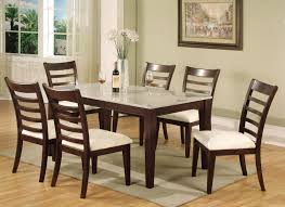 Round Granite Kitchen Table Furniture Glamorous Style For Kitchen With Granite Topped Dining
