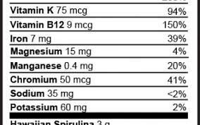 Health Ranger Select Spirulina Tablets 1700 Tabs 500 Mg