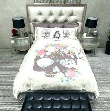skull and crossbones bedding duvet covers pencil sketch rose kissing s sugar cover king size set skull and crossbones bedding pink duvet covers sheets