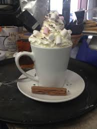 hot chocolate with marshmallows and whipped cream. Perfect Marshmallows Padfields Porkies Hot Chocolate With Whipped Cream Marshmallows  Sprinkles And Of Course A Throughout With Marshmallows And Whipped Cream P