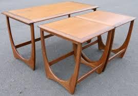 teak retro furniture. Teak Retro Nest Of Coffee Tables By G-Plan Furniture A