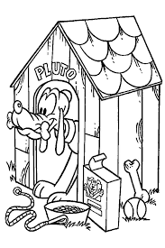 Small Picture Pluto the faitfull dog of Mickey Mouse which is a loved dog