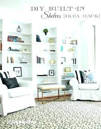 built in shelving ideas how to build bookcases from billy bookshelves floor ceiling plans around fireplace