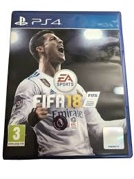 PS4 FIFA 18 Game Football Soccer Video ...