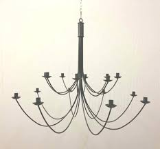 wrought iron candle chandeliers the belton 2 tiered 16 arm wrought iron candle chandelier pertaining to