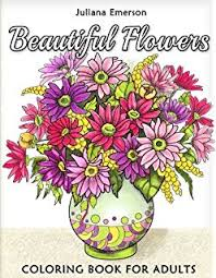 beautiful flowers coloring book for s
