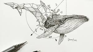 Artist Pairs Wildlife With Geometry To Create Stunning