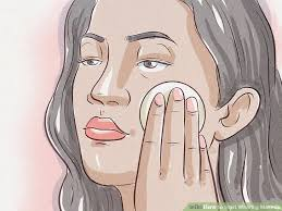 image led start wearing makeup step 12