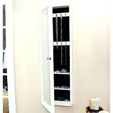 mirrored wall jewelry armoire jewelry armoire wall mount wooden jewelry storage cabinet with corner media armoire