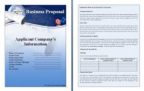 Sample Proposal Template Word Barca Fontanacountryinn Com