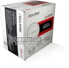 eclipse sw8200 single 4 ohm 12 subwoofer sonic electronix product eclipse sw8200