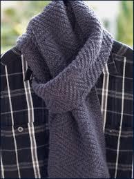 Lamberhurst Scarf Knitting Pattern Mens Scarf Reversible