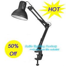 hot selling creative clamp on table lights fixtureswork desk table lamp adjustable arm eye protecting table lamp adjustable lighting fixtures