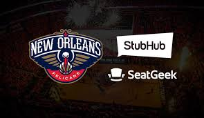 Pelicans To Provide Stubhub And With Orleans Seatgeek Partners New nvBOqTU