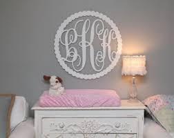Monogram Sign, Baby Monogram, Monogram Nursery, Custom Wall Monogram, Wall  Decor for