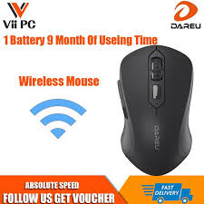 <b>Wireless Mouse Dareu</b> LM115G Singapore Local Reseller, 1 Year ...