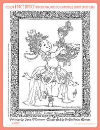 Small Picture Elegant Fancy Nancy Coloring Pages 64 For Your Coloring for Kids