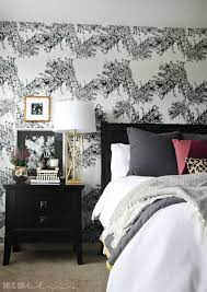Master Bedroom Accent Wall with ...