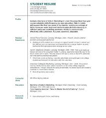 College Student Resume Template Microsoft Word Classy Free Student Resume Templates Microsoft Word Supergraficaco