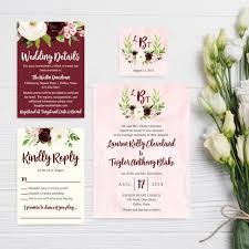 Wedding Invitations With Rsvp Cheap Wedding Invitation