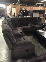 fabric reclining sectional gray fabric reclining sectional nevio leather fabric power reclining sectional sofa with articulating