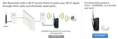 amped wireless pla powerline nano av port network adapter kit extend your wi fi connection
