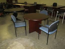 conference table round 36 inch cherry offered by classic office interiors
