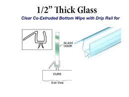 beautiful clear shower door seal strip shower door strip glass shower door clear seal strip